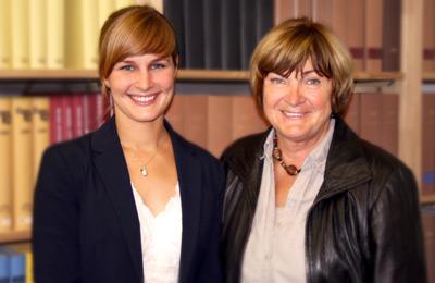 Gabriele Witten und Mareike Paetow